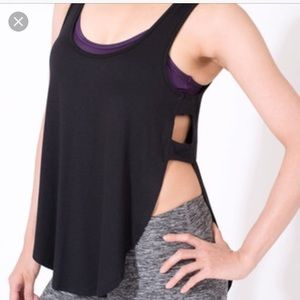 Grey tank with open sides